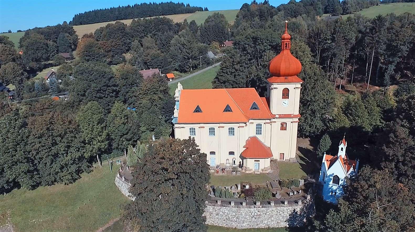Kostel Nejsvětější Trojice, obec Polevsko