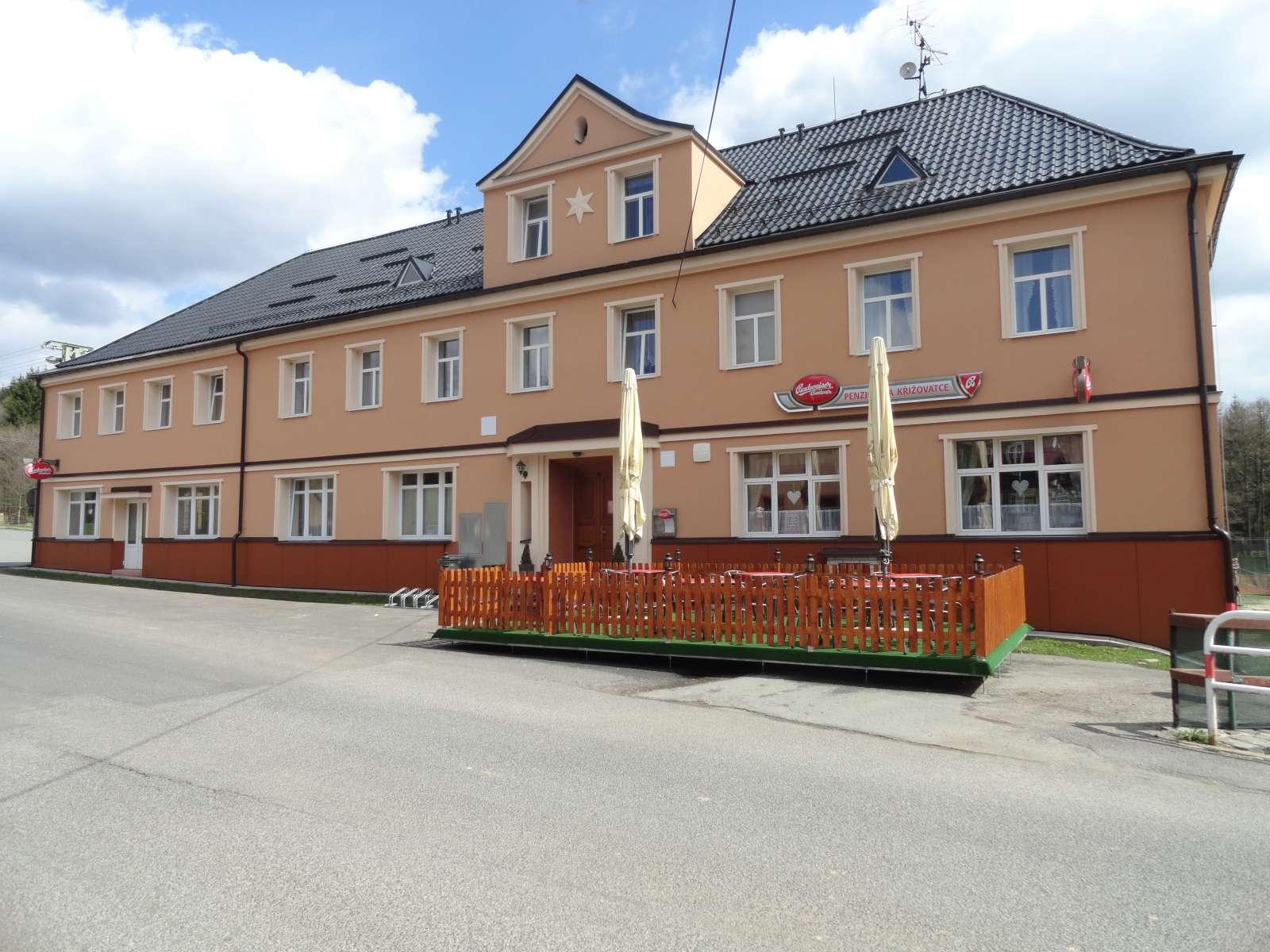 Restaurace a penzion na Křižovatce, obec Polevsko