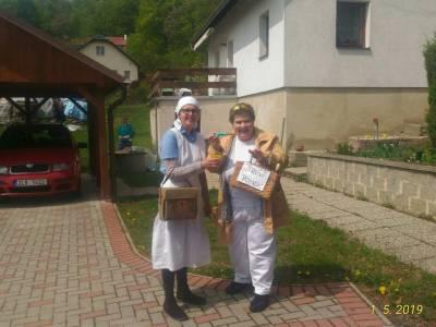 Oslava 1. máje, Polevsko 2019
