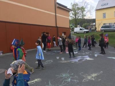 Pálení čarodějnic 30. 4. 2019, Polevsko