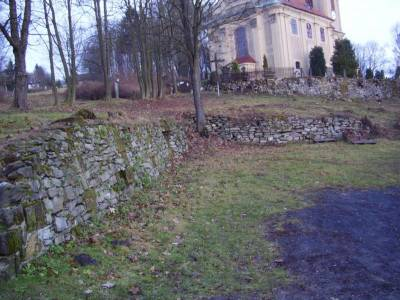 Oprava zárubní zdi a parkoviště