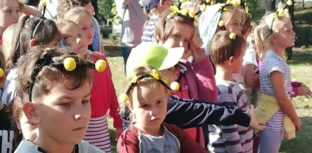Slavnostní otevření arboreta v Polevsku, 21. 9. 2020