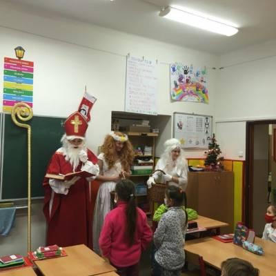 Čerti, Mikuláš a andělé ve školce